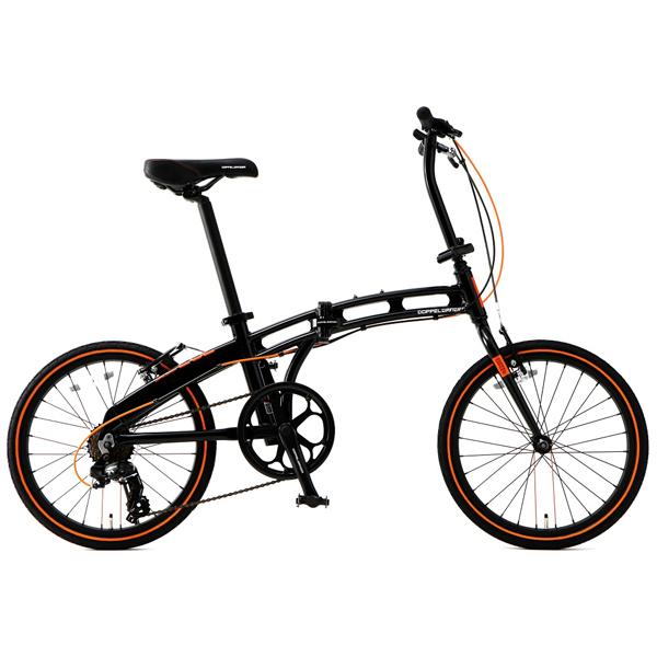 画像1: DOPPELGANGER ドッペルギャンガー 202-S-DP black max ブラックマックス 折りたたみ自転車