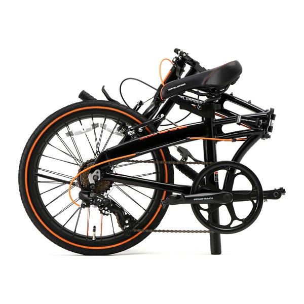画像2: DOPPELGANGER ドッペルギャンガー 202-S-DP black max ブラックマックス 折りたたみ自転車