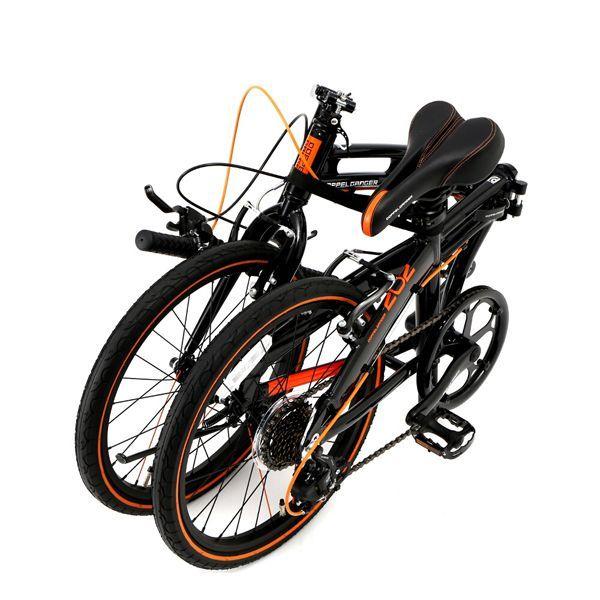 画像3: DOPPELGANGER ドッペルギャンガー 202-S-DP black max ブラックマックス 折りたたみ自転車