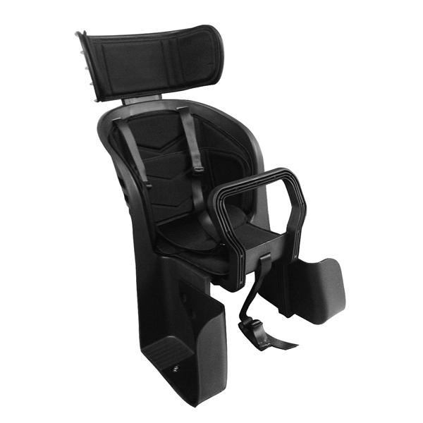 画像1: ヘッドレスト付チャイルドシートDX PC-001 ブラック