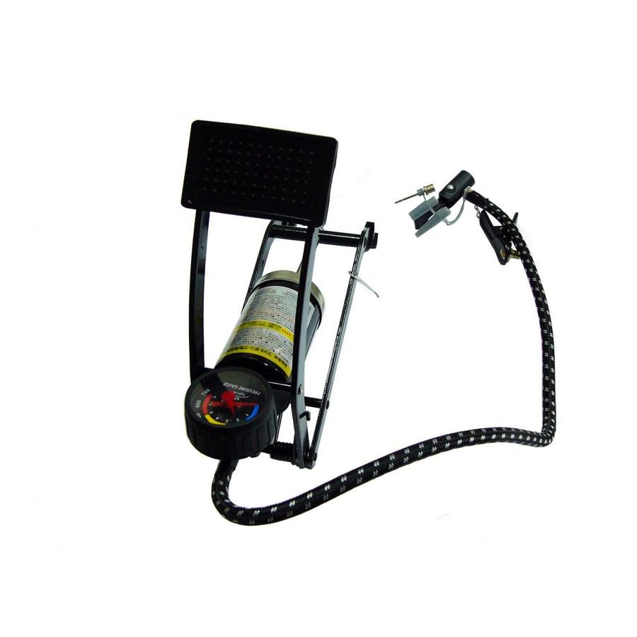 画像1: 自転車用フットポンプ 空気入れ
