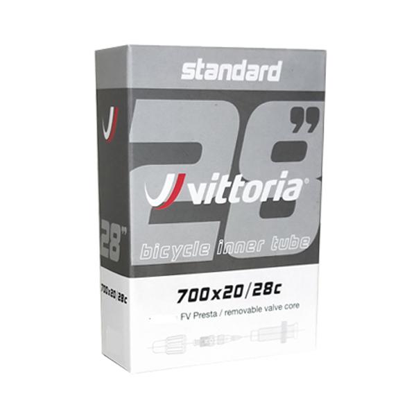 画像1: Vittoria ヴィットリア STANDARDチューブ 700×20/28C 仏式 48mm